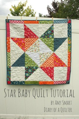 layer-cake-star-baby-quilt-tutorial